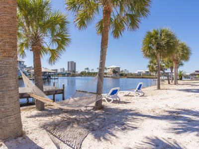 Photo for Beach Home! SLps 14,  Luxury 5 Bed/4 Bth 156 FT Of Waterfront! Boat Launch/dock