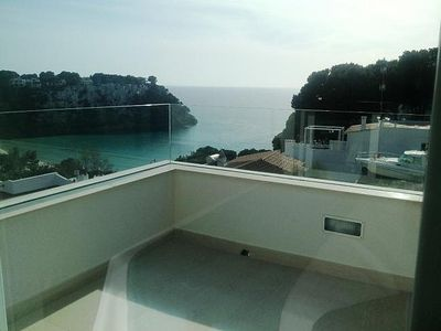 Photo for New villa with private salt water pool, sea views and jacuzzi