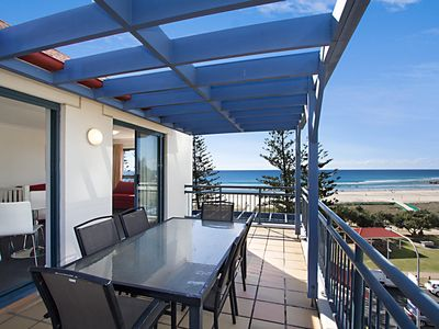 Photo for Calypso Plaza Resort Unit 462 - Penthouse style apartment Beachfront Coolangatta