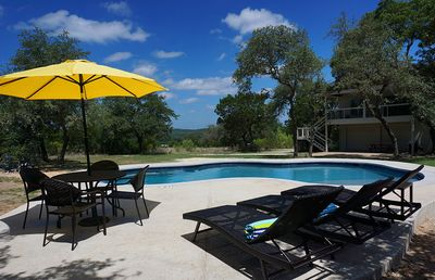 Photo for New Pool! Vista Verde On Top Of A Hill  3 1/2 Miles To The Square 6 Bedrooms Sleeps 16.