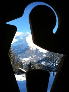 Photo for CHALET IBEX facing Mont-Blanc and ski-in ski-out