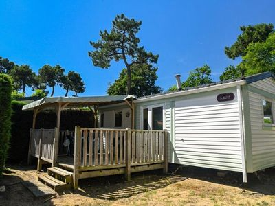 Photo for Camping La Pomme de Pin **** - 3-room ocean mobile home 4/6 people