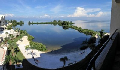 Photo for GREAT RATES!  LUXURY WEST FACING CONDO -  STUNNING SUNSET VIEWS AND BOAT DOCK!!!