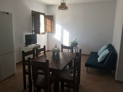 Photo for Apartment in natural park of cabo de gata next to the aqueduct of Fernan perez