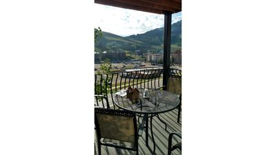 Photo for 3 Bedroom, 3 bath Condo overlooking Mt. Crested Butte