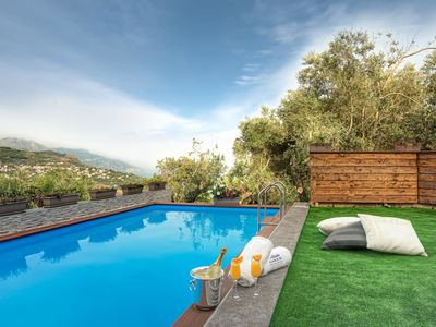 Photo for Echis House Villa with Pool and Amalfi Coast Views