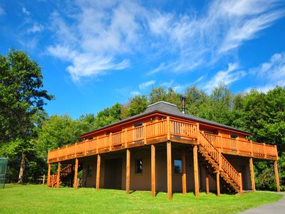 Photo for Breathtaking 4 Bedroom Luxury Mountain Home in quiet location!