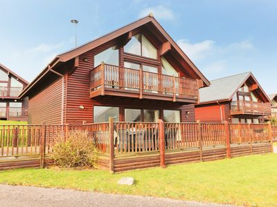Photo for Four bedroom holiday lodge, on site water sports and activities