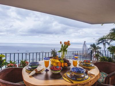 Photo for Luxe Oceanfront Condo Overlooking Banderas Bay - La Palapa 604