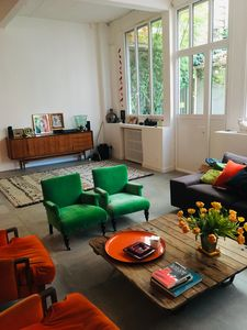 Photo for Loft with two terraces and sauna 10 minutes from Paris.