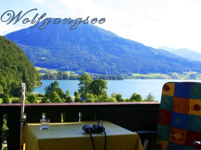 Photo for Apartment with lake view, only 150 meters from the beautiful Lake Wolfgang
