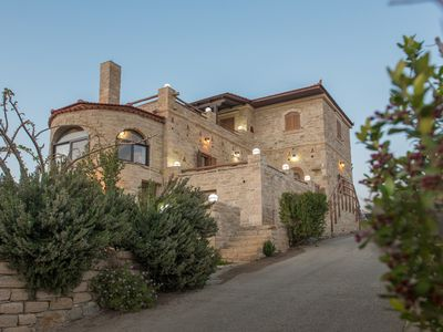 Photo for Villa Katerina - A traditional and luxury villa at Kalamaki
