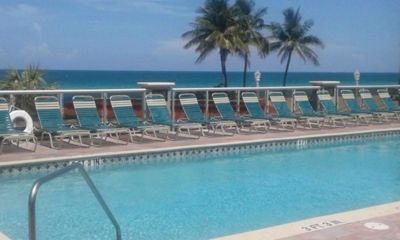 Photo for BEACHFRONT 2 BEDROOM / 2 BATH WITH POOL (July 6-13)
