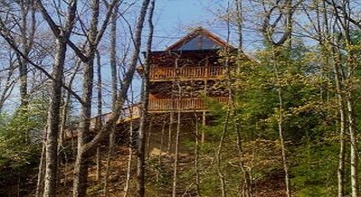 "Photo for This is an absolutely stunning 2 BR/2.5 BA chalet just 10 - 12 minutes from the Gatlinburg ""Strip""."