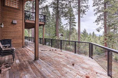 Plan your next getaway to this 4-bedroom, 3.5-bathroom vacation rental house in Incline Village, Nevada.