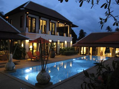 Photo for Villa Pura Samui - Big Pool & Gym for Family&Friends-1 minute walk to the beach