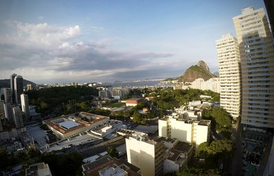 View  of Sugar Loaf Mountain. A must see tourist spot in Rio de Janeiro