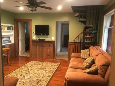 Photo for Private 4 BR house provides room for two families to enjoy the lake