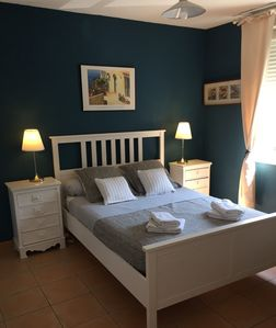 Photo for Nice T2 between beach and city center, terrace, wifi, air conditioning, parking, local-bikes ...