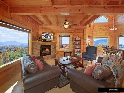 Photo for **Luxury Cabin in the Smoky Mountains - Best Views! Close to all attractions **
