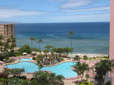 Photo for OCEAN FRONT RESORT! Beautiful Maui Deluxe Ocean View Unit ~ February 16-23, 2019