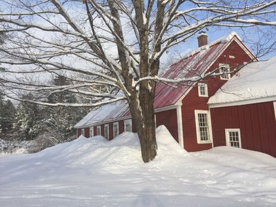 Photo for Rambling, cozy 1800s farmhouse close to Stratton & Mount Snow, Green Mountains