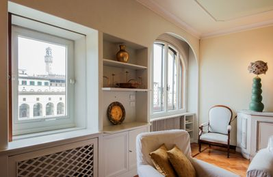 Photo for Ponte Vecchio Luxury II, Bright and spacious apartment on the 4th floor of a prestigious building