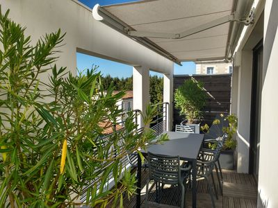 Photo for Grand Penthouse and parking downtown La Rochelle