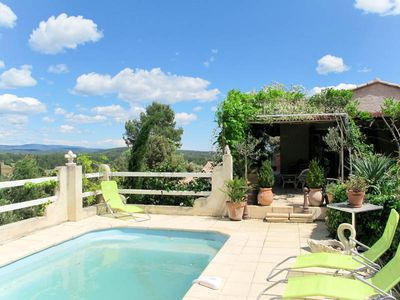 Photo for Vacation home in Montfort s/Argens, Côte d'Azur hinterland - 6 persons, 3 bedrooms