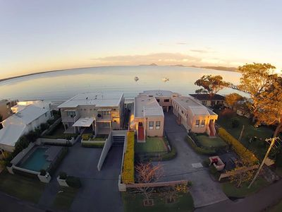 Photo for 1 'Seaside Splendour' 137 Soldiers Point Road - beautiful unit on the waterfront