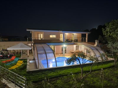 Photo for Čiovo- villa with a heated pool- all year vacation