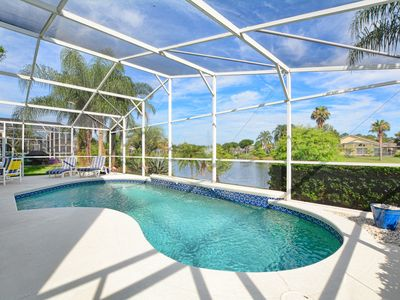 Photo for Lakeside Pool Villa Very Close to Disney, Shopping, Dining and more.