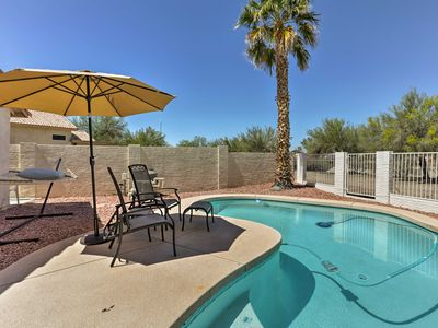 Photo for Glendale Home w/ Heated Pool & Mountain Views!
