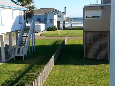 Photo for Ocean view from 2 balconies; BEACH 2 MIN WALK; BBQ GRILL, WiFi