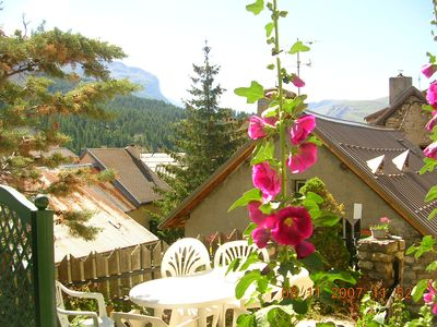 Photo for Cosy duplex rated 2** facing the forest in Villar d'Arène