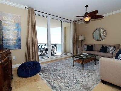 Photo for Indigo East 1602- Beach Front Unit with Luxurious Interior and Amenities!