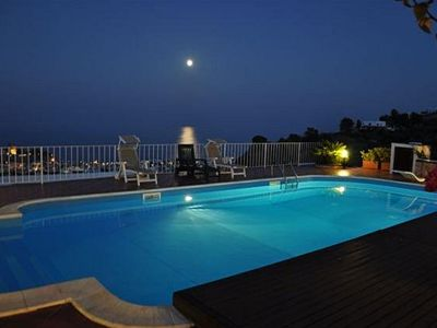 Photo for La Chiara panoramic and suggestive house with swimming pool in Lipari