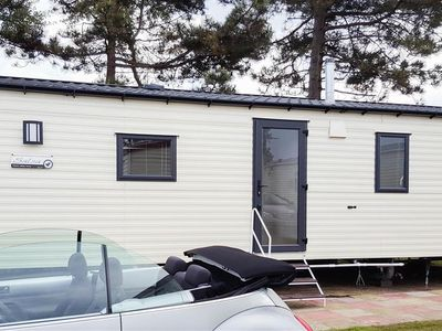 Photo for A high spec 'eco van' situated on Haven holiday park near Great Yarmouth.