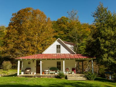 Photo for White Fence Farm on 105 stunning acres - quiet, rustic, cozy and fun!