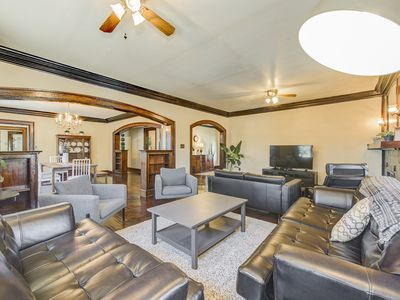 Photo for Private Historic Classy Townhome near downtown Indy with free parking!