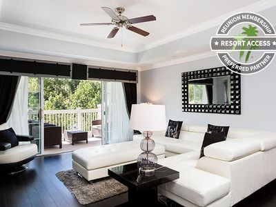 Photo for Ultra Modern Condo Near Disney! Peaceful Views, Upgrades and Games Console