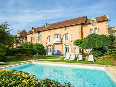 Photo for Monumental house with private pool and a stunning view of Belvès