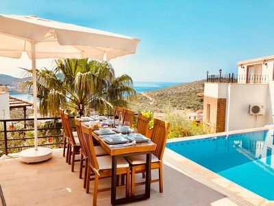 Photo for Villa Pisces 3 Bedroom Villa  Walking Distance to town