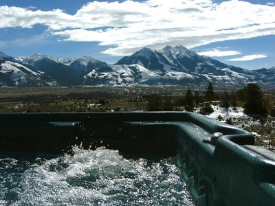 Photo for Perfect for Families Visiting Yellowstone, Chico ~ Hot Tub! Splendid Views ~