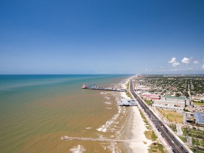Galveston - This home is near the cruise port, so spend an extra night or two in the city before or after your cruise to enjoy Galveston.
