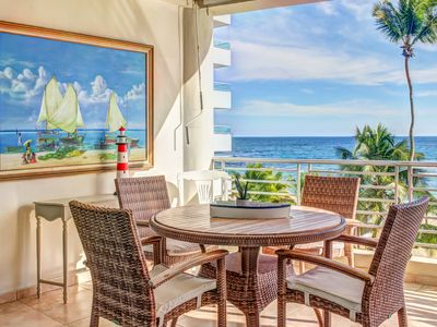Photo for Postcard-perfect oceanfront condo with shared pool & easy beach access
