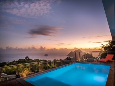 Photo for ARCHITECT VILLA WITH POOL AND VIEWS OF THE BAY OF DIAMOND