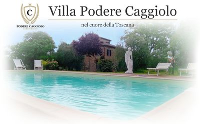 Photo for 8px apartment. Villa in Tuscany with panoramic swimming pool