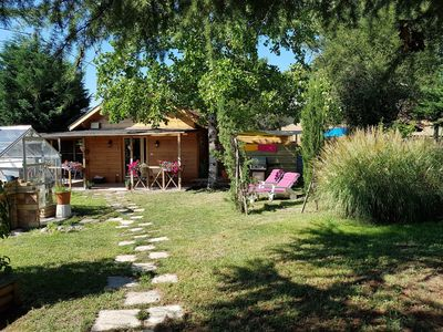 Photo for 1BR Chalet Vacation Rental in Port-Sainte-Foy-Et-Ponchapt, Nouvelle-Aquitaine