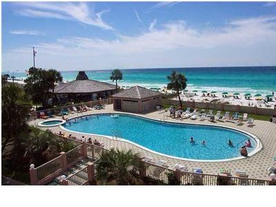 Photo for Jetty East unit 206A- Cozy one bedroom with views of Destin's beautiful pass!